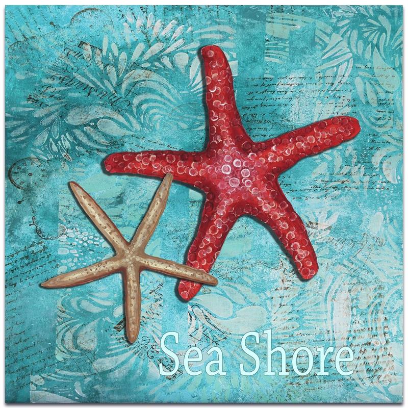 Metal Art Studio Sea S By Megan Duncanson Starfish