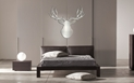 SILVER BUCK - 36x36 in. Metallic Deer Cut-Out - Lifestyle Image