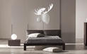 WINTER MOOSE - 36x36 in. Silver & White Decor - Lifestyle Image