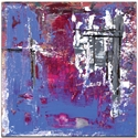 Abstract Wall Art 'Urban Life 7' - Urban Decor on Metal or Plexiglass