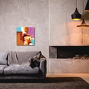 Abstract Wall Art 'Urban Life 12' - Urban Decor on Metal or Plexiglass - Image 3