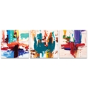 Abstract Wall Art 'Urban Triptych 2 Large' - Urban Decor on Metal or Plexiglass