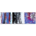Abstract Wall Art 'Urban Triptych 4' - Urban Decor on Metal or Plexiglass - Image 2