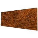 Blooming Brown by Helena Martin - Original Abstract Art on Ground and Painted Metal - Image 3