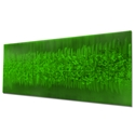 Static Green by Helena Martin - Original Abstract Art on Ground and Painted Metal - Image 3