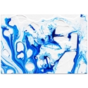Abstract Wall Art 'Coastal Waters 3' - Colorful Urban Decor on Metal or Plexiglass - Image 2