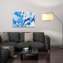 Abstract Wall Art 'Coastal Waters 4' - Colorful Urban Decor on Metal or Plexiglass - Image 3