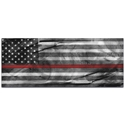 Firemen Flag 'American Glory Firefighter Tribute' - First Responders Art on Metal or Acrylic