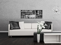 Aporia Black & White - Contemporary Metal Wall Art - Lifestyle Image