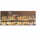 Portland City Skyline - Urban Modern Art, Designer Home Decor, Cityscape Wall Artwork, Trendy Contemporary Art - Alternate View 2