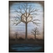 Contemporary Wall Art 'Full Moon' - Bare Trees Decor on Metal or Plexiglass - Image 2