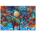 Landscape Painting 'Lovers Moon' - Abstract Tree Art on Metal or Acrylic - Image 2