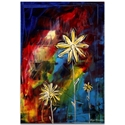 Impasto Flower Painting 'Visual Feast' - Abstract Flower Art on Metal or Acrylic - Image 2