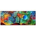 Landscape Painting 'Blue Moon Rising' - Abstract Tree Art on Metal or Acrylic - Image 2