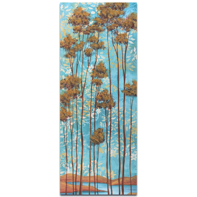 Abstract Tree Art 'Floating Dreams v2' - Landscape Painting on Metal or Acrylic