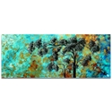 Landscape Painting 'Spring Blooms' - Abstract Tree Art on Metal or Acrylic - Image 2