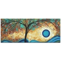 Landscape Painting 'Summer Blooms' - Abstract Tree Art on Metal or Acrylic