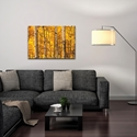 Landscape Photography 'Aspen Gold' - Autumn Nature Art on Metal or Plexiglass - Image 3