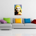 Marilyn Monroe Right To Twinkle | Pop Art Painting by Mark Lewis, Signed & Numbered Limited Edition - ML0001