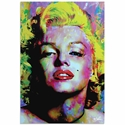 Marilyn Monroe Relinquished Beauty | Pop Art Painting by Mark Lewis, Signed & Numbered Limited Edition - ML0025