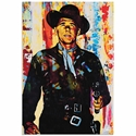 Ronald Reagan Generation Extinction | Pop Art Painting by Mark Lewis, Signed & Numbered Limited Edition - ML0034