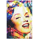 Marilyn Monroe Marilyn Bee by Mark Lewis - Celebrity Pop Art on Metal or Plexiglass - ML0041