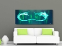 Green Tidal Wave  - Original Canvas Art - Alternate Image
