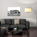 Western Wall Art 'The Perch' - American West Decor on Metal or Plexiglass - Lifestyle View