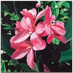 Traditional Wall Art Exotic Lilies - Floral Decor on Metal or Plexiglass