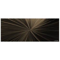Tantalum Bronze - Contemporary Metal Wall Art