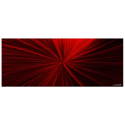 Tantalum Red - Contemporary Metal Wall Art