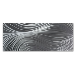 Passing Currents Composition - HD Metal Art Photo Print