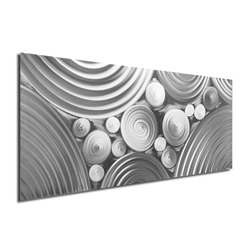 Interdiffusion Composition - Modern Metal Wall Art