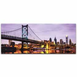 Philadelphia City Skyline - Urban Modern Art, Designer Home Decor, Cityscape Wall Artwork, Trendy Contemporary Art