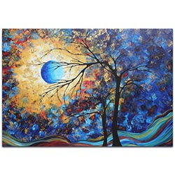 Landscape Painting Eye of the Universe - Abstract Tree Art on Metal or Acrylic