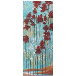 Abstract Tree Art Floating Dreams v1 - Landscape Painting on Metal or Acrylic