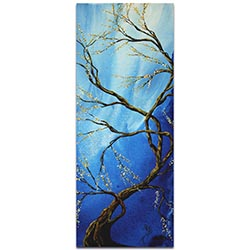Landscape Painting Infinite Heights - Abstract Tree Art on Metal or Acrylic
