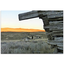Western Wall Art The Corner - American West Decor on Metal or Plexiglass