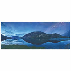 Lake Hawea by Yan Zhang - Landscape Art on Metal or Acrylic
