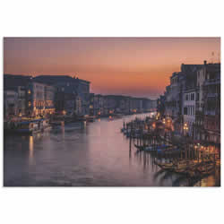 Venice Grand Canal by Karen Deakin - Venice Landscape Art on Metal or Acrylic