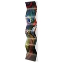 Esne Wave 9.5x44in. Metal Eclectic Decor