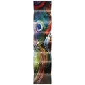 Esne Wave 9.5x44in. Metal Eclectic Decor - Image 2