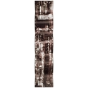 Aporia Black Wave 9.5x44in. Metal Eclectic Decor - Image 2