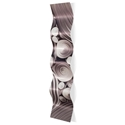 Interdiffusion Wave 9.5x44in. Metal Eclectic Decor