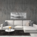 Morning Mist by Marloes van Pareren - Black and White Photography on Metal or Acrylic - Alternate View 3