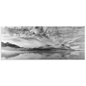 Morning Mist by Marloes van Pareren - Black and White Photography on Metal or Acrylic - Alternate View 2