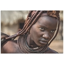 Himba Girl by Piet Flour - African Fashion Art on Metal or Acrylic