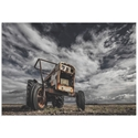 The Tractor Scream by Bragi Ingibergsson - Industrial Art on Metal or Acrylic