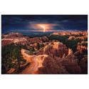 Lightning Over Bryce Canyon by Stefan Mitterwallner - Storm Pictures on Metal or Acrylic - Alternate View 2