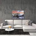 Frozen Lighthouse by Benjamin Williamson - Coastal Wall Art on Metal or Acrylic - Alternate View 3